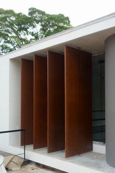 Painéis de aço cortén NaturaCor® | Coppermax