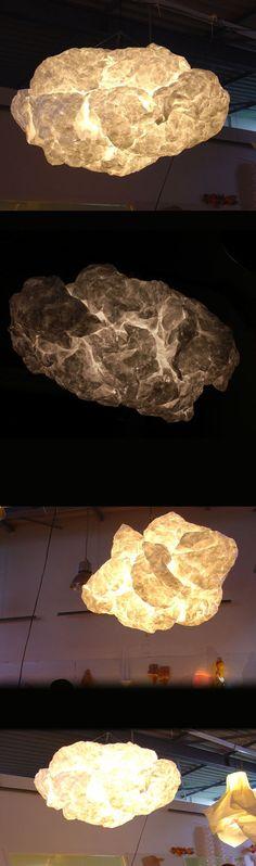 Lamp tyvek paper on Behance