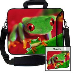 "Designer Sleeves 17"" Executive Laptop Sleeve Frog - Designer Sleeves Laptop Sleeves"