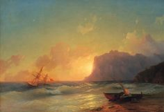 The late 19th century Armenian-Russian painter Ivan Konstantinovich Aivazovsky created some truly spectacular paintings of seascapes that ca...