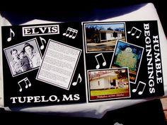 Elvis - Tupelo Birthplace 1 & 2 - Scrapbook.com