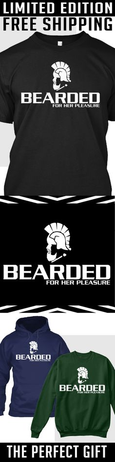 Bearded For Her - Limited Edition. Only 2 days left for free shipping, get it now!