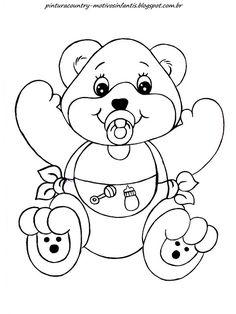 Olá meninas olha o que fiz para mim e para vocês, ursinhos!     Eu precisava fazer um ursinho para uma encomenda, e me empolguei rs de...