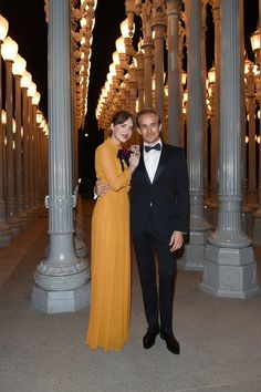 Pin for Later: LACMA Just Hosted the Ultimate A-List Party — and All Your Favourite Stars Were There Dakota and Jesse Johnson Dakota Johnson, Jesse Johnson, Don Johnson, Cristian Grey, Dakota Style, Ana Steele, Star Wars, Models, Love Her Style