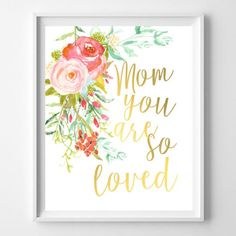 Mother's Day Printable Art | Craft Gawker | Bloglovin'