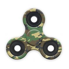 Spinner Squad Camo Fidget Spinner! Voted #1 for fastest and longest spin!