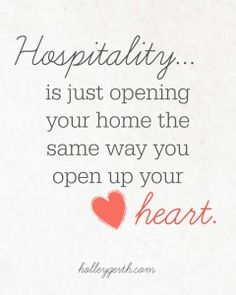 Hospitality, especially having overnight guests can be challenging if you don't prepare your home and yourself ahead of time.