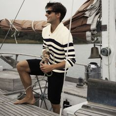 Casual Boat Look Sharp Dressed Man, Well Dressed Men, Fashion Moda, Look Fashion, Mens Fashion, Man Look, Stylish Men, Men Casual, Looks Style