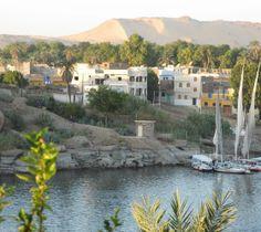 Nubian Village in Aswan, Egypt