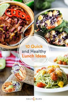 10 Quick And Healthy Lunch Ideas Youll Want To Steal