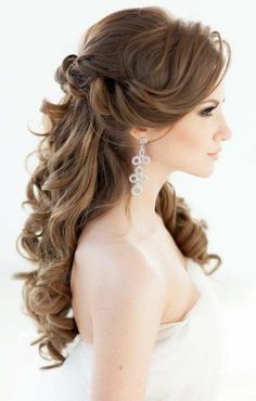 Long Wedding Hairstyles 48 Our Favorite Wedding Hairstyles For Long Hair  Pinterest