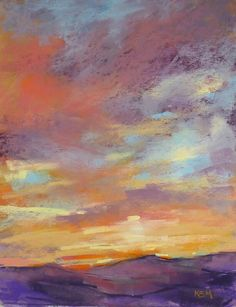 'Majesty' 11x14 pastel ©Karen Margulis