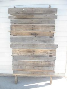 Pallet Back Drop | Do It Yourself Home Projects from Ana White