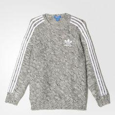 adidas - Knit 3-Streifen Sweatshirt