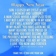 10 Best Mother And Son Quotes - Single Mothers Quotes - Ideas of Single Mothers Quotes - Sons are a blessing and here are 10 quotes for mother's to express their love. We capture the love a mother feels for her son with the I love my son quotes. Love My Son Quotes, I Love My Son, Mom Quotes, Family Quotes, Mothers Love For Her Son, Son Sayings, Life Quotes, True Sayings, Random Quotes