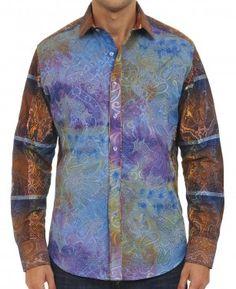 Robert Graham THE DRILLER Shirt, Style RS151617, Spring 2015 Robert Graham, Dobby, Sports Shirts, Cool Shirts, Style Me, Paisley, Shirt Dress, Spring 2015, Shirt Style