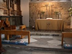 Chapel of St. Peter ad Vincula, The Tower, London where the remains of Anne Boleyn are interred.