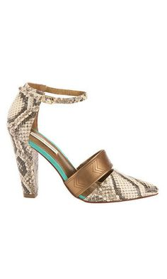 Astrid Etched Pump | Cynthia Vincent