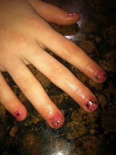 @OPI Nail #opigelcolorglittercoat #myaddressishollywood #whenmonkeysfly Nails by Anita