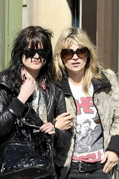 Rebel Rebel Anti-Style with Keanan Duffty: Alison Mosshart & Kate Moss - Rock & Roll Stylee