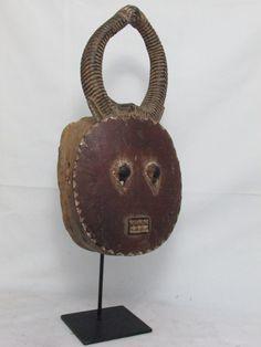 African Tribal Art Baule Goli Mask African by AmazingMagicalSpells