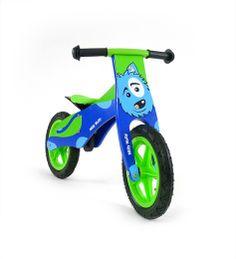 Bici bambini in legno senza pedali duplo cane -  www.e-funkybaby.it #efunkybabyit #bici #bicicletta #cane