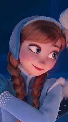 Disney Princess Quotes, Disney Princess Frozen, Disney Princess Pictures, Modern Disney Characters, Cute Disney Wallpaper, Frozen Wallpaper, Anna Frozen, Frozen Pictures, Anna Disney