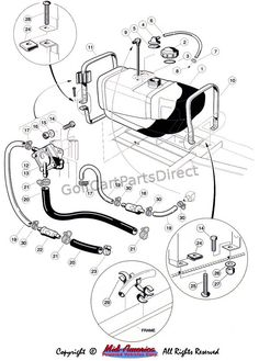 Images Wiring Diagram 1997 Gas Club Car 99 With Throughout