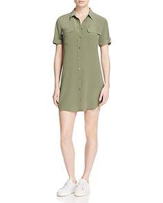 Equipment Slim Signature Silk Shirt Dress