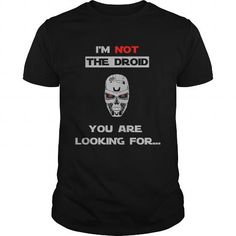 I Love Im not the droid you are looking for Shirts & Tees