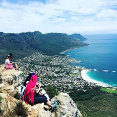 View from the top of #lionshead #capetown #hiking #hikingadventures #vscocam #capetownmag
