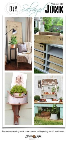 DIY Salvaged Junk Projects 341