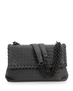 bed746004f7 V2JXW Bottega Veneta Olimpia Large Shoulder Bag, Black Black Purses, Bottega  Veneta, Botega