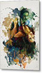 Tango 7b Metal Print by Maryam Mughal