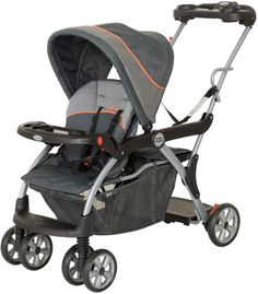 Baby Trend Eclipse Sit N Stand Double Stroller Spark