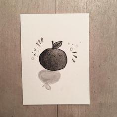 """Inktober das 5   """"round"""" . I just Gas to think of a round fruits so I drew a happy little orange 🍊 . . . . . . . #mosseryinktober #mosseryinktober2019 #inktoberprompts #inktober #inktober2019 #ink #inkdrawing #illustration #artwork #artistsoninstagram Inktober, Draw, Orange, Illustration, Happy, Artwork, Artist, Instagram, Work Of Art"""