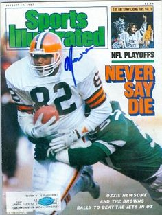 Ozzie Newsome Cleveland Browns Publications