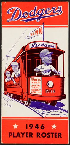 1946 Brooklyn Dodgers Player Roster