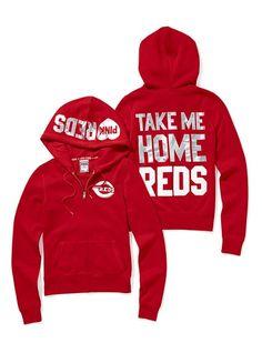 Cincinnati Reds gear from Victoria's Secret