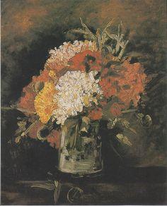 Van Gogh - Vase mit Nelken, 1886