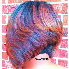 Here you are latest and popular Razor Cut Bob Hairstyles right here for you ladies. This style bob cut, really stylish and popular, your hair looks spiky. Bob Hairstyles 2018, Medium Bob Hairstyles, Short Hairstyles For Women, Cool Hairstyles, Easy Hairstyle, Bob Haircuts, Black Hairstyles, Hairstyle Ideas, Razor Chic