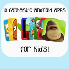 10 Fantastic Free Android Apps for Kids #androidapps #kidsapps #educational @Shauna (LilDuckieArts) (LilDuckieArts) Jenkins