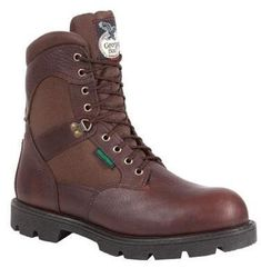 Homeland Steel Toe Waterproof Work Boots by Georgia Insulated Work Boots, Duty Boots, Georgia Boots, Steel Toe Work Boots, Hunting Boots, Boots For Sale, Cool Boots, Western Boots, Brown Boots