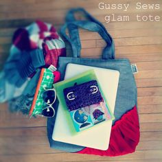 *new* glam totes by Gussy Sews