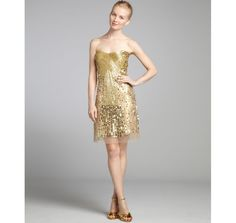 Get Your Shine On: Gold Sequins