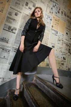Spódnice i żakiety z pianki. Foam skirts and jackets. http://www.bee.com.pl/e-sklep/