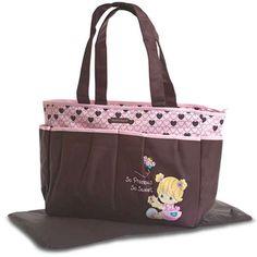 Precious Moments Bag | Precious Moments Diaper Bag Pink - BabyGiftsOutlet.com