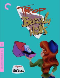 A fake Criterion Collection cover for Troop Beverly Hills @Shelby Jenkins