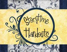 Cute website w/ YW handouts ~Storytime Handouts