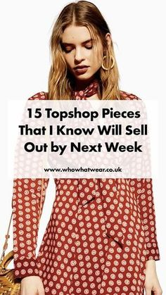 94076e207ed4 Spring Shopping  The 15 Topshop pieces that will sell out by next week. See